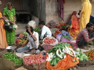 Markt von Bundi - Rajasthan / Indien